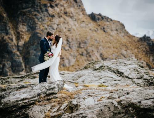 Keira + Adam / Chapel by the Lake Wedding / Cecil Peak Photoshoot