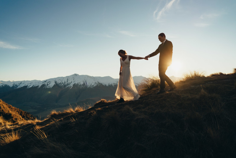 Mount Roy Wanaka wedding