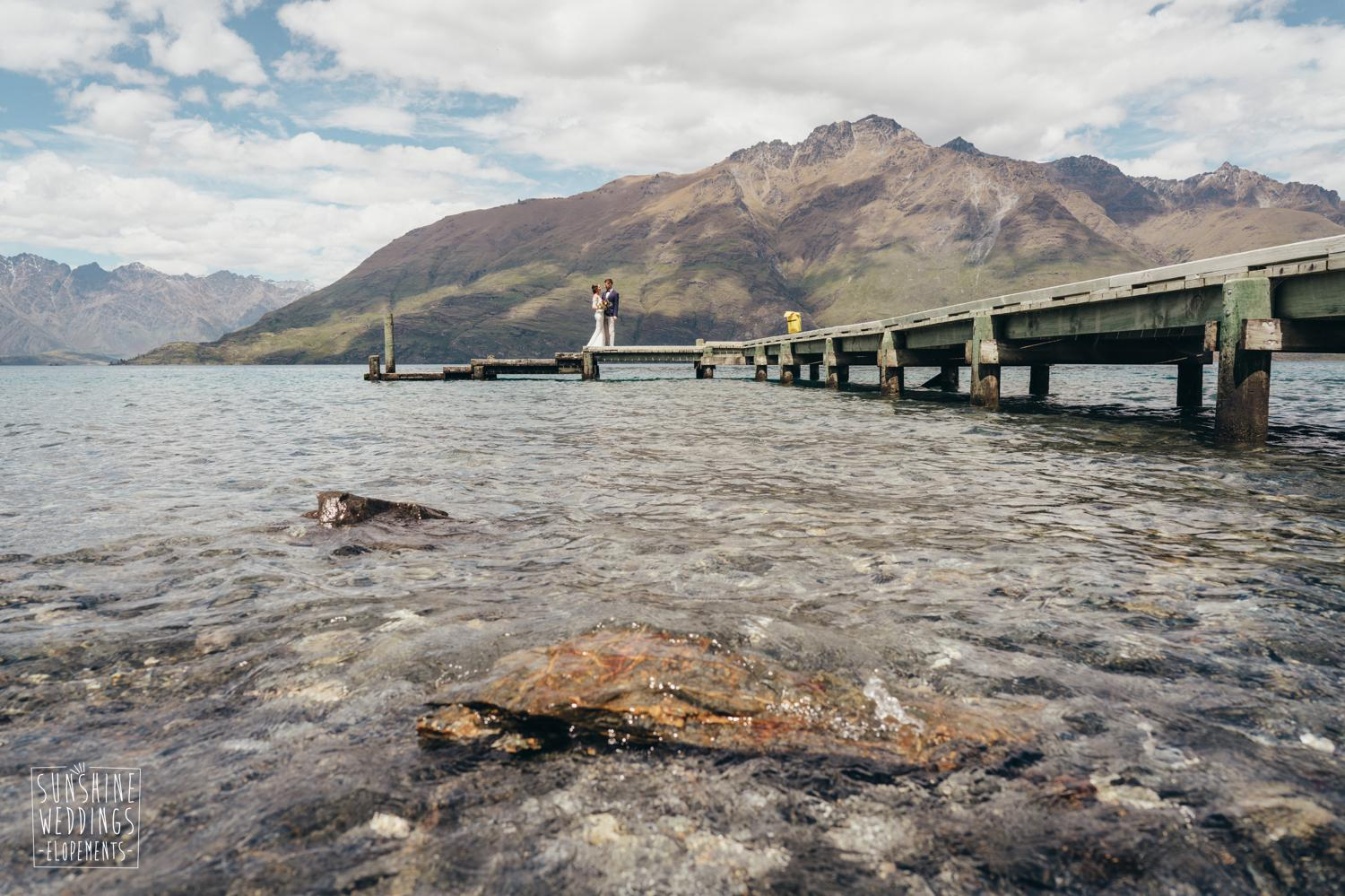 Caitlin + Peter / Lakeside Wedding / Dual Landing / Cecil  Peak + The Remarkables