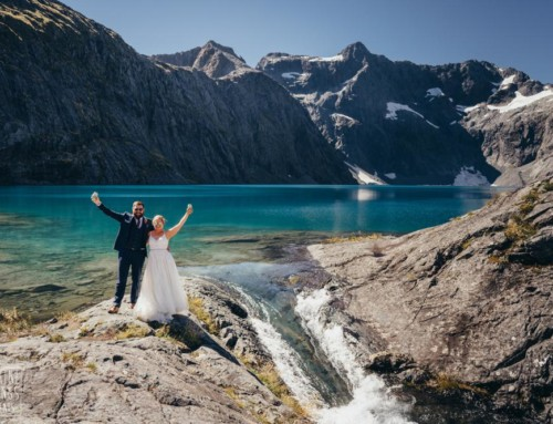 Kristin + Kyle / Mountain Elopement / Adventure Wedding / Lake Erskine + Mount Roy