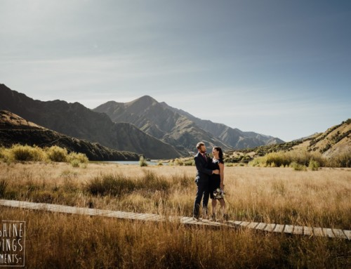 Trish + Simon / Moke Lake Elopement
