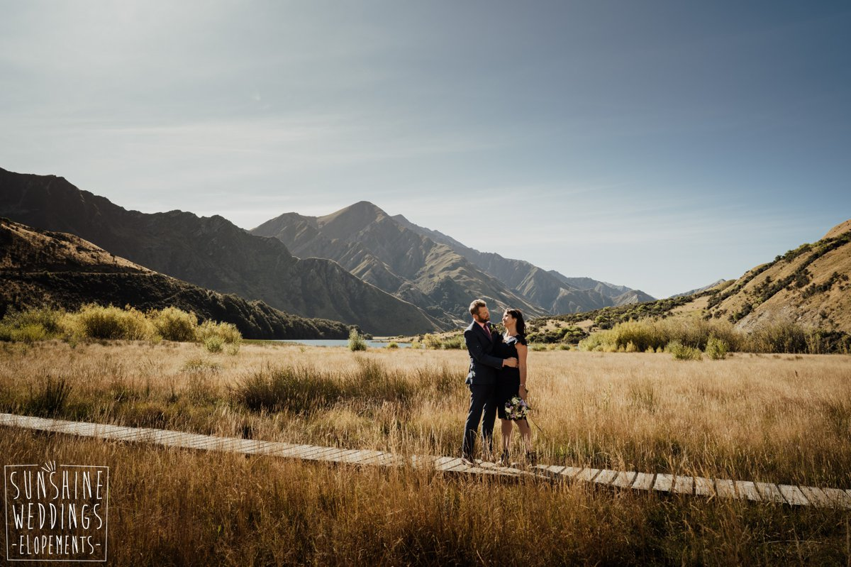 moke lake wedding